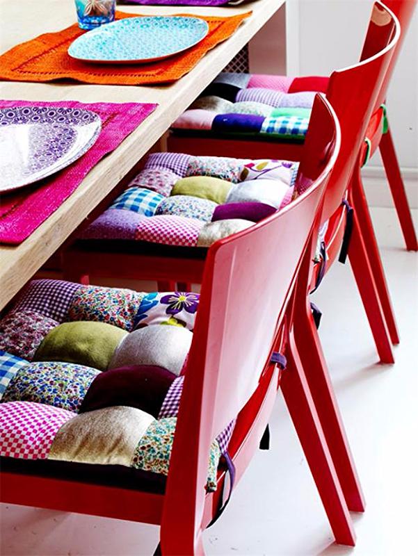 подушки на стул, сидушки на стул